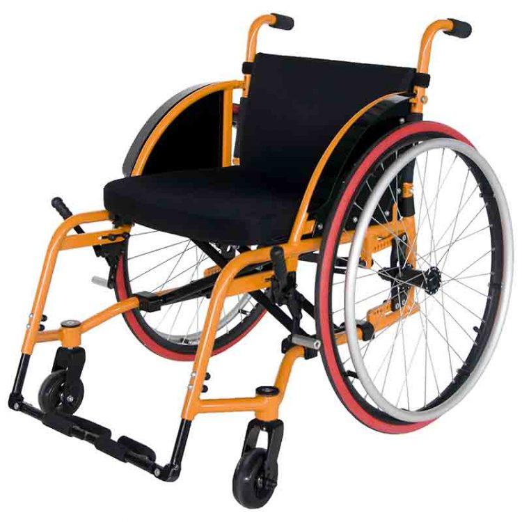 foldable manual sport wheelchair