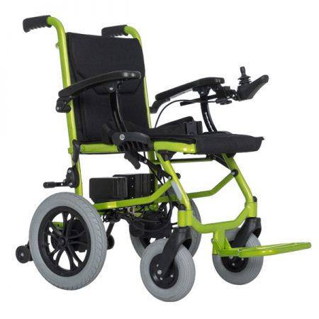 Lightweight Aluminum Alloy Travel Electric Wheelchair Supplier