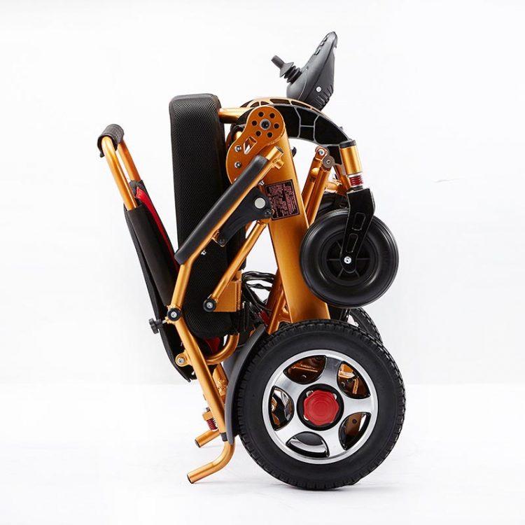 Hospital Patient Automatic Intelligent Folding Power Wheelchair