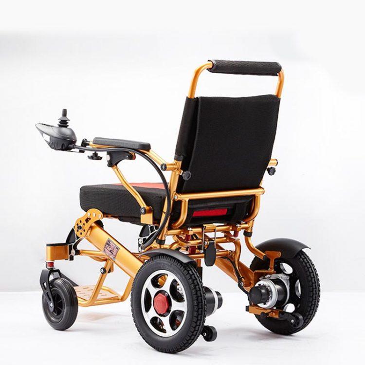 Lithium Battery Wheelchair Aluminum Folding Electric Power Wheelchair