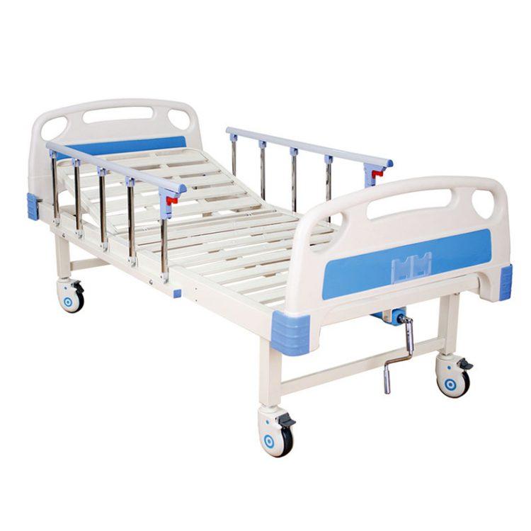 Wholesale cheap single crank hospital bed
