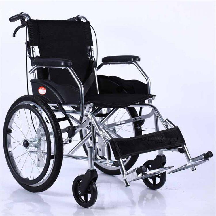 20-inch Rear Wheel Black Color manual wheelchair manufacturer