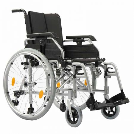 European Style Aluminum Lightweight Folding Wheelchair With Cheap Price