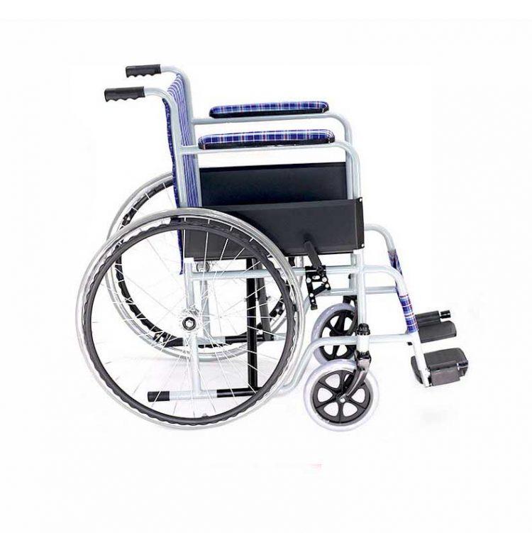 22 inch rear wheel foldable elderly wheelchair