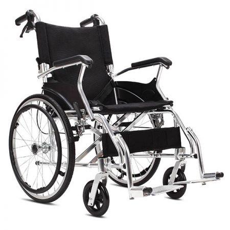 Aluminum Folding Self Propelled Wheelchair