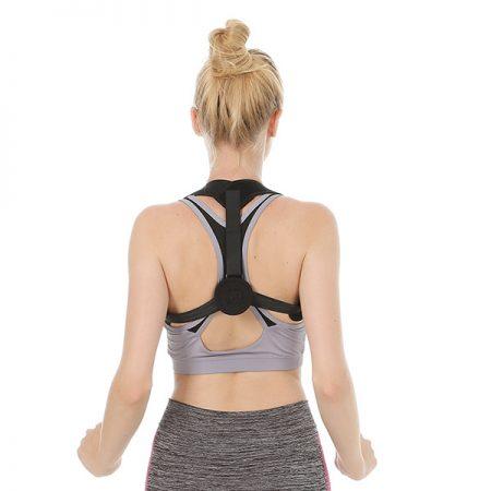 Black Color Back Posture Corrector