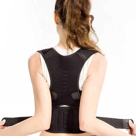 adjustable posture corrector with magnets