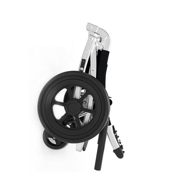 Small folding volume Aluminum alloy wheelchair
