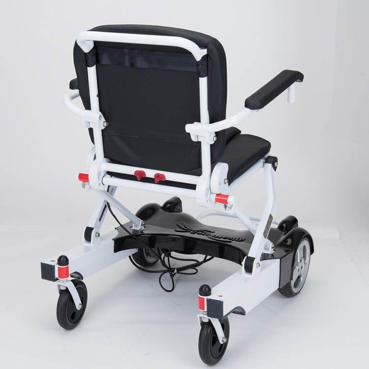 Heavy Duty Adjustable Ultra Light Aluminium Electric Wheelchair