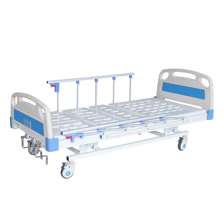 Three function manual hospital bed