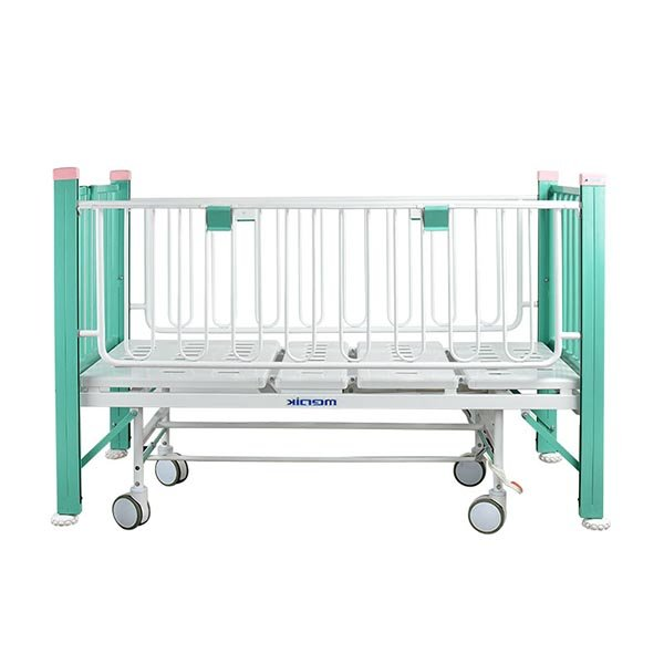 Child hospital bed with wheels