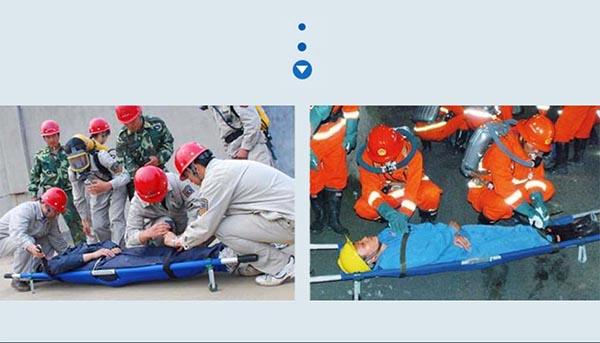 Emergency stretcher application
