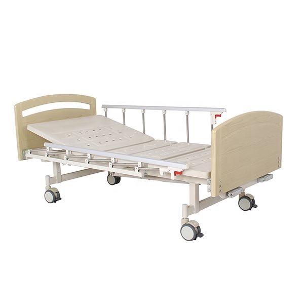 Standard dimension manual hospital bed