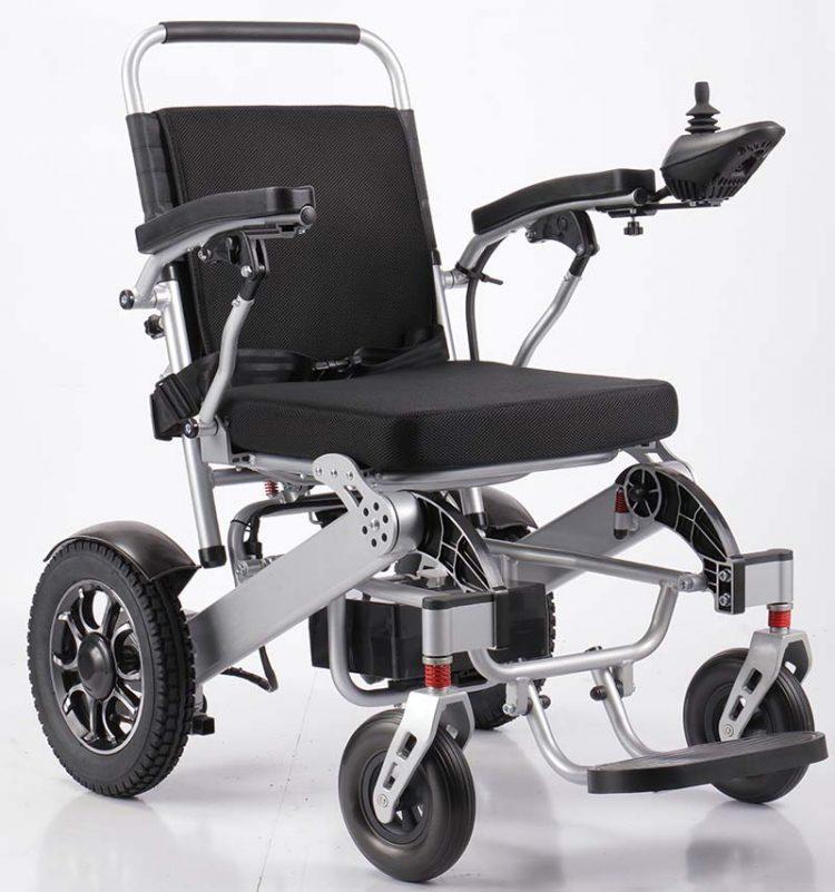 ST-120P lightweight aluminium electric wheelchair