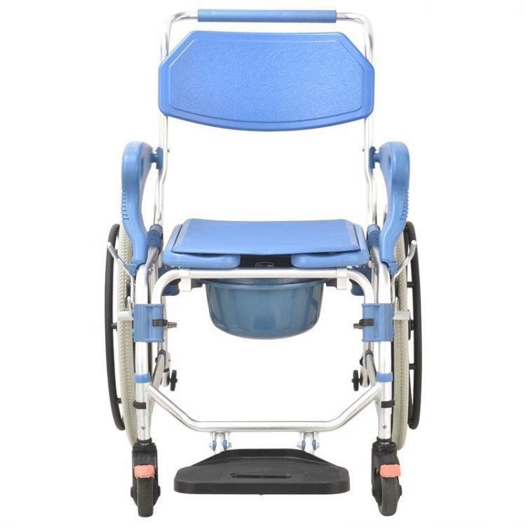 Multichair Ultra Narrow ShowerCommode Wheelchair