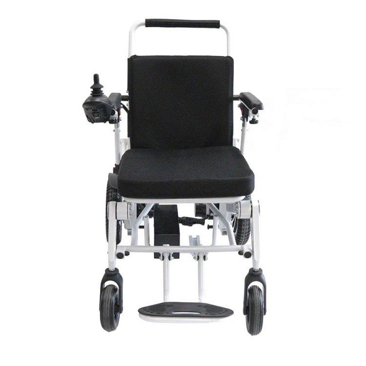 Aluminium frame folding electric wheelchair manufacturer