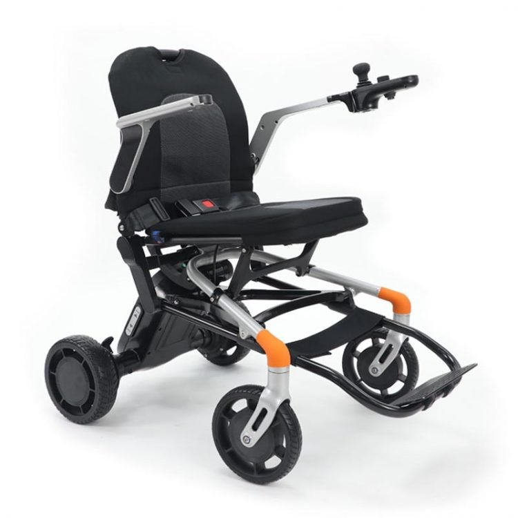 23kg Magnesium Alloy Electric Wheelchair